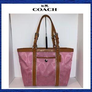 Coach Signature E/W Tote Handbag